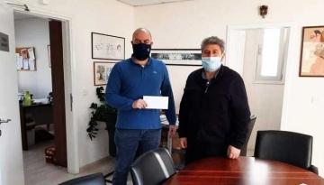 O Δήμος Γερίου ενισχύει τα σωματεία του